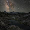Hot Creek Milky Way  by Michael Ver Sprill