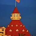 Hotel Del Coronado Sunset Portrait by Kyle Hanson