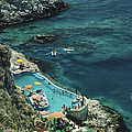 Hotel Taormina Pool by Slim Aarons