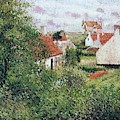 Houses At Knocke, Belgium, 1894 by Camille Pissarro