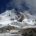Huayna Potosi Cloudscape Cordillera Real Bolivia by James Brunker