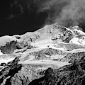 Huayna Potosi In Monochrome Bolivia by James Brunker