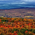 Hudson Valley Ny Autumn by Susan Candelario