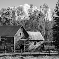 Hudson Valley Ny Countryside Bw by Susan Candelario