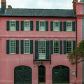 Hues Of Pink - Rainbow Row by Dale Powell