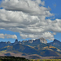 Huge Clouds Over Owl Creek Pass by Ray Mathis
