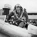 Hughes Boards His Plane by Time Life Pictures