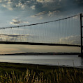 Humber Bridge In The Evening by Scott Lyons