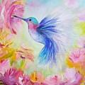 Hummingbird  by Anna Bogusevich