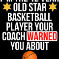 I Am The 12 Year Old Star Basketball Player Your Coach Warned You About by Jose O