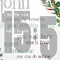 I Am The Vine by Claire Tingen