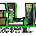 I Believe Roswell New Mexico Big Letter by Colleen Cornelius