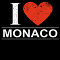 I Love Monaco by Jose O