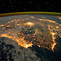 Iberian Peninsula From Space by NASA Johnson Space Center