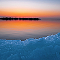 Ice Break-up, Steep Rock, Lake Manitoba by All Canada Photos Rm