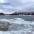 Icy Lake Superior by Susan Rissi Tregoning
