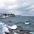 Icy Minnesota North Shore by Susan Rissi Tregoning
