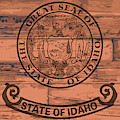 Idaho State Flag Brand by Bigalbaloo Stock