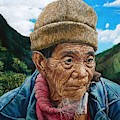 Ifugao Tribesman With Three Quarter View by Christopher Shellhammer