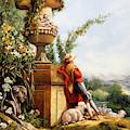 Il Pastore E Le Sue Pecore by Guido Borelli