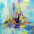 Illusive Boats by Liubov Kuptsova