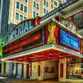 Imperial Theatre 2 Vintage Augusta Georgia Architectural Art by Reid Callaway