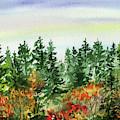 Impressionistic Colors Of Fall  by Irina Sztukowski
