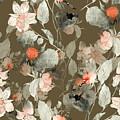 Imprint Fantastic Paint Bouquet. Hand by Liia Chevnenko