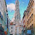 In-spired  Street Scene Brussels by Leigh Kemp