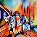 In The City by Olumide Egunlae