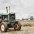 In The Field by Brad Allen Fine Art