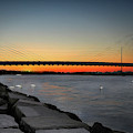 Indian River Bridge Over Swan Lake by Bill Swartwout Fine Art Photography