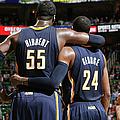 Indiana Pacers V Utah Jazz by Melissa Majchrzak