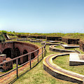 Inside Historic Fort Massachusetts by Susan Rissi Tregoning