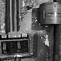 Inside The Projection Room - Bw by Kristia Adams