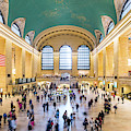 Interior Of Grand Central Station, New York City, Usa by Matteo Colombo