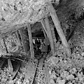 Interior View Of The Bagdad Mine - Ludlow, California -  Circa.  by Doc Braham