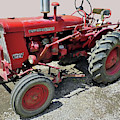 International 140 Tractor by D Hackett