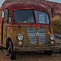 International A120 Metro Van by Susan Candelario
