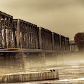 International Bridge by Jim Lepard