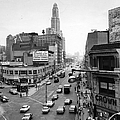 Intersection Of Fulton St. And Flatbush by New York Daily News Archive