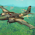 Invader Over Vietnam - Oil by Tommy Anderson