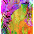 Iris Psychedelic  by Cindy Greenstein