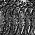 Iron Fence Pattern by Cynthia Guinn