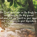 Isaiah 44 3 #bibleverse #scripture by Andrea Anderegg
