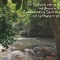 Isaiah 44 3 II #bibleverse #scripture  by Andrea Anderegg