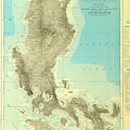 Island Of Luzon - Old Cartographic Map - Antique Maps by Siva Ganesh