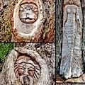 Island Tree Spirits by Kathy K McClellan