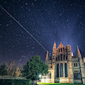 Iss Over Ely Cathedral by James Billings