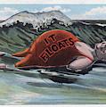 It Floats - Man by Mark Miller